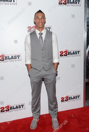 "David Nelson attends the premiere of ""23Blast"" at the Regal Cinemas E-Walk Theater on in New York"