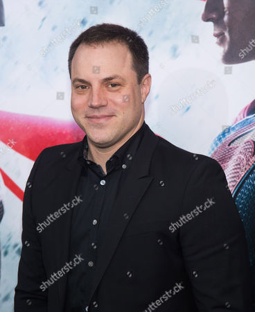 "Geoff Johns attends the premiere of ""Batman v Superman: Dawn of Justice"" at Radio City Music Hall on Sunday, March, 20, 2016, in New York"
