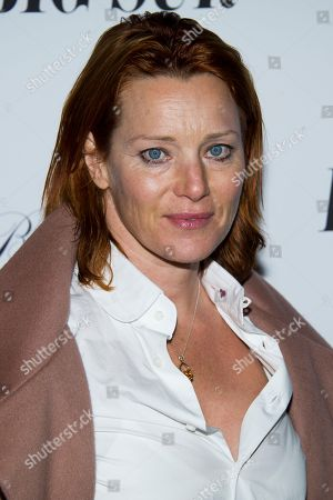 "Stock Photo of Angela Featherstone attends the premiere of ""Big Sur"" on in New York"