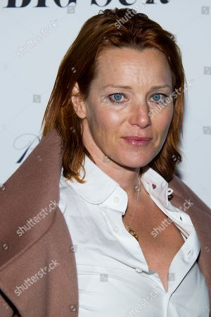 "Stock Image of Angela Featherstone attends the premiere of ""Big Sur"" on in New York"