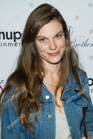 "Lindsay Burdge attends the premiere of ""Big Sur"" on in New York"