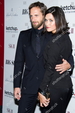 """Stock Image of Josh Lucas and Jessica Henriquez attend the premiere of """"Big Sur"""" on in New York"""