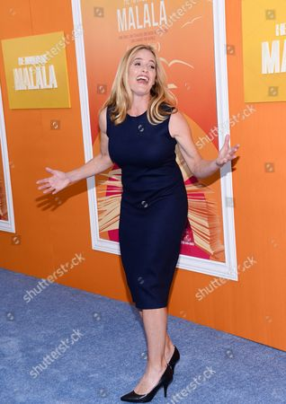 """Elizabeth Shue attends the premiere of """"He Named Me Malala"""" at The Ziegfeld Theatre, in New York"""