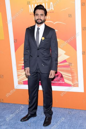 "Actor Jackky Bhagnani attends the premiere of ""He Named Me Malala"" at The Ziegfeld Theatre, in New York"