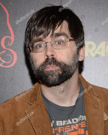 """Writer Joe Hill attends the premiere of """"Horns"""" at The Landmark Sunshine Theater on in New York"""