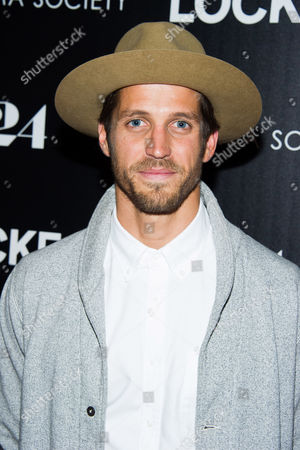 "Stock Picture of Albert Reed attends the premiere of ""Locke"" hosted by A24 and The Cinema Society on in New York"