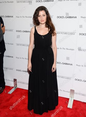 "Aleksa Palladino attends the ""Magic In The Moonlight"" premiere, hosted by Dolce & Gabbana, at the Paris Theatre, in New York"