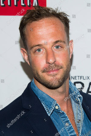 """Nick Stevenson attends the premiere of the Netflix original series """"Orange is the New Black"""" on in New York"""