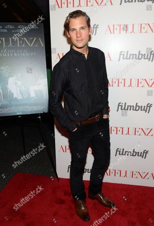 "Stock Picture of Actor Ryan Vigilant attends a special screening of ""Affluenza"" at the SVA Theater on in New York"