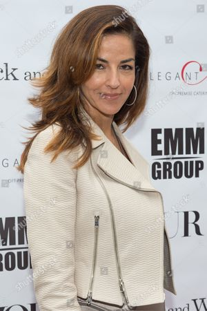"Dayssi Olarte de Kanavos attends a special screening of ""Black and White"" at the UA East Hampton Theater on in New York"