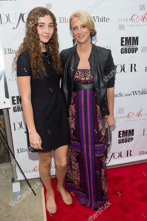 """Stock Image of Violet Lepore and Nanette Lepore attend a special screening of """"Black and White"""" at the UA East Hampton Theater on in New York"""