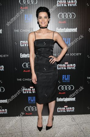 """Actress Jaime Alexander attends a special screening of """"Captain America: Civil War"""", hosted by The Cinema Society and Audi, at Brookfield Place, Henry R. Luce Auditorium, in New York"""