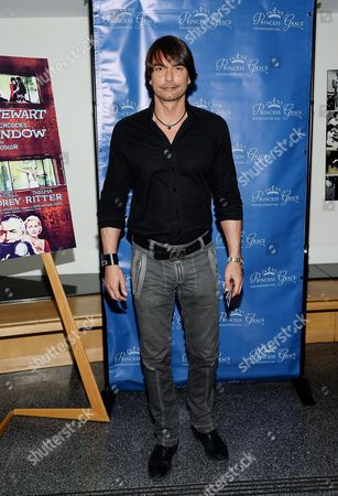 """Marcus Schenkenberg attends a special screening of """"Rear Window"""", hosted by The Princess Grace Foundation, at The Academy Theater, in New York"""