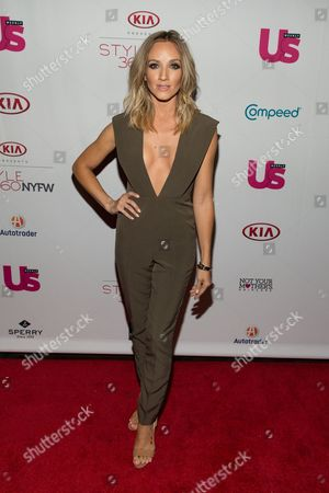 Shannon Bex attends the US WEEKLY celebrates Fashion Week at KIA STYLE360, in New York