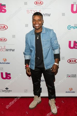 Marc John Jefferies attends the US WEEKLY celebrates Fashion Week at KIA STYLE360, in New York