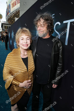 Producers Paula Mae Schwartz and Steve Schwartz at Open Road Films Los Angeles Premiere of 'The Host' held at the ArcLight Hollywood, on Tuesday, March, 19, 2013 in Los Angeles