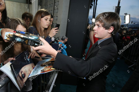 Chandler Canterbury at Open Road Films Los Angeles Premiere of 'The Host' held at the ArcLight Hollywood, on Tuesday, March, 19, 2013 in Los Angeles