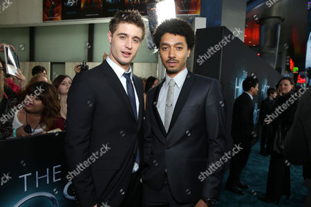 Max Irons and Shawn Carter Peterson and at Open Road Films Los Angeles Premiere of 'The Host' held at the ArcLight Hollywood, on Tuesday, March, 19, 2013 in Los Angeles
