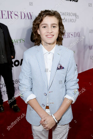 "Brandon Spink seen at Open Road Presents the World Premiere of ""Mother's Day"" at TCL Chinese Theatre, in Hollywood"
