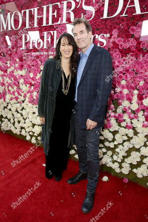 """Maggie Wheeler and Daniel Borden Wheeler seen at Open Road Presents the World Premiere of """"Mother's Day"""" at TCL Chinese Theatre, in Hollywood"""
