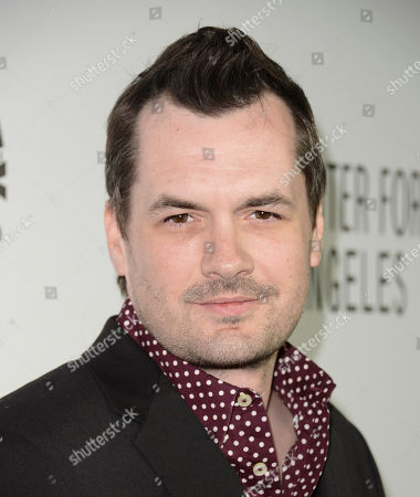 Actor and producer Jim Jeffries arrives at the Paley Center 2013 Annual Benefit Gala honoring FX Networks at the Twentieth Century Fox Studios on in Los Angeles