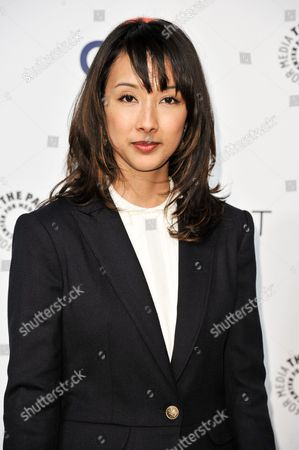 """Maurissa Tancharoen arrives at PALEYFEST 2014 - """"Marvel's Agents of S.H.I.E.L.D."""", in Los Angeles"""