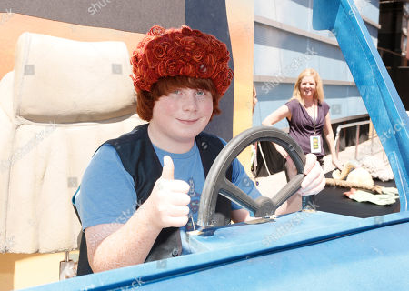 """Tucker Albrizzi attends the pre-party to the world premiere of """"Paranorman"""" at the Globe Theater on in Universal City, Calif"""
