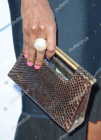 Roshumba Williams arrives at Pathway to the Cure Benefit at Santa Monica Airport, in Santa Monica, CA