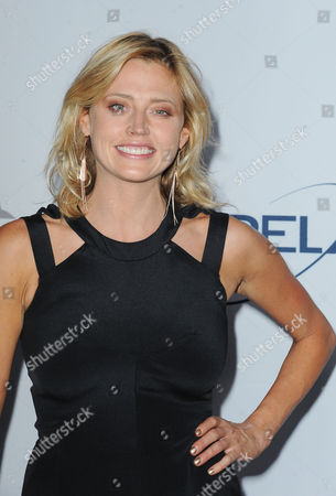 Stock Photo of Estella Warren arrives at Pathway to the Cure Benefit at Santa Monica Airport, in Santa Monica, CA