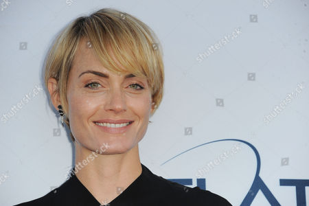 Amber Valetta arrives at Pathway to the Cure Benefit at Santa Monica Airport, in Santa Monica, CA