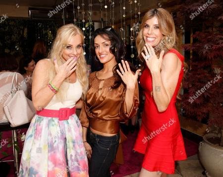 Jaime Boreanaz, Mirelly Taylor and Melissa Ravo attend the Polish Play and emPower Chrome Girl Nail Lacquer Debut on in Los Angeles