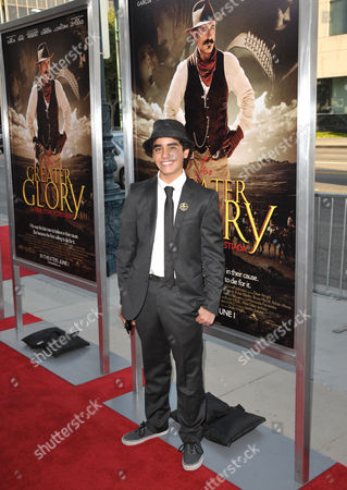"""Mauricio Kuri attends the premiere of """"For Greater Glory"""" at AMPAS Theatre on in Beverly Hills, Calif"""