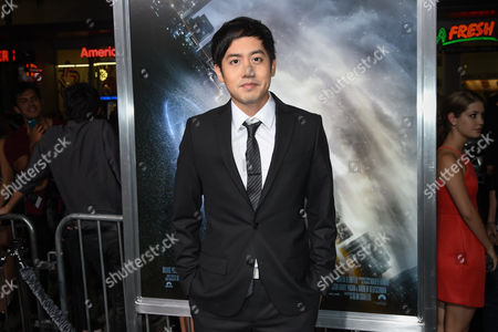 "Allen Evangelista attends The Los Angeles Premiere of ""Project Almanac"" at the TCL Chinese Theatre, in Los Angeles"