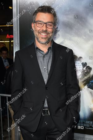 """Andre Nemec attends The Los Angeles Premiere of """"Project Almanac"""" at the TCL Chinese Theatre, in Los Angeles"""