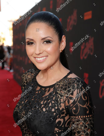 Cindy Vela attends the premiere of Pantelion Film's 'Cantinflas' at TCL Chinese Theatre on in Los Angeles