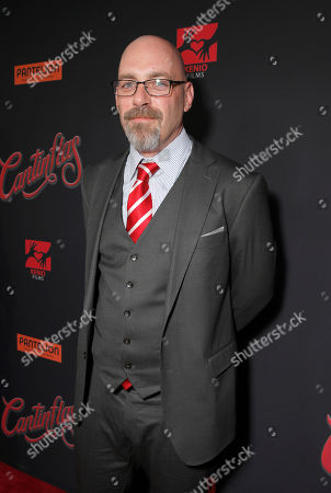 Director Sebastian Del Amo attends the premiere of Pantelion Film's 'Cantinflas' at TCL Chinese Theatre on in Los Angeles