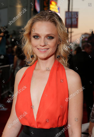 Ana Layevska attends the premiere of Pantelion Film's 'Cantinflas' at TCL Chinese Theatre on in Los Angeles