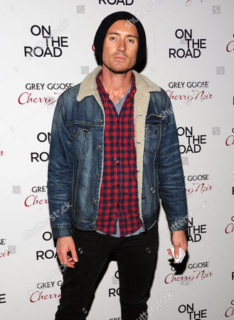 """Stock Photo of Casper Zafer attends the premiere of """"On The Road"""" at the SVA Theater on in New York"""