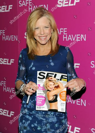"""Self editor-in-chief Lucy Danziger attends the premiere of """"Safe Haven"""" at the Sunshine Landmark on in New York"""
