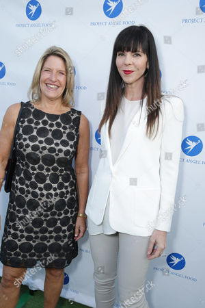 CEO of Project Angel Food, Laurie Lang and Mila Hermanovski seen at Project Angel Food Awards, on Saturday, August, 10, 2013 in Los Angeles