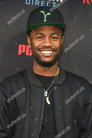 Casey Veggies arrives at the Roc Nation Pre-Grammy Brunch at RocNation Offices, in Beverly Hills, Calif