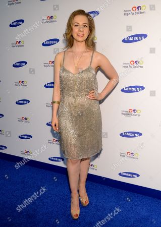 Sarah Hughes attends the 13th Annual Samsung Hope For Children Gala at Cipriani Wall Street on in New York