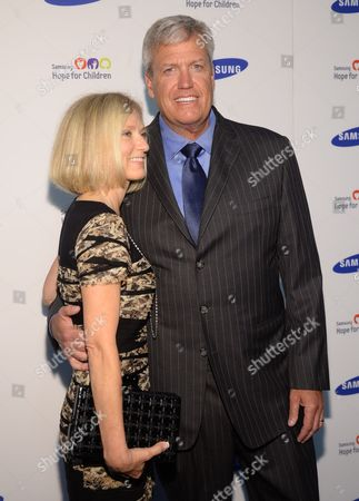 Rex Ryan and wife Michelle Ryan attend the 13th Annual Samsung Hope For Children Gala at Cipriani Wall Street on in New York