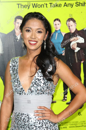 """Stock Picture of Samantha Cutaran attends the premiere of """"Seven Psychopaths"""" at the Bruin Theatre on in Los Angeles"""