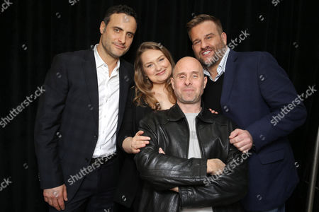Dominic Fumusa, Merritt Wever, Paul Schulze and Stephen Wallem seen at Showtime's 2015 Winter TCA held at the The Langham Huntington, Pasadena, in Pasadena, Calif