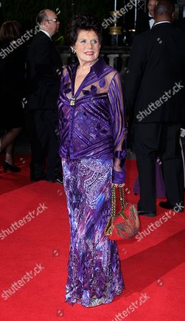 Eunice Gayson arrives at the world premiere of Skyfall at the Royal Albert Hall on in London