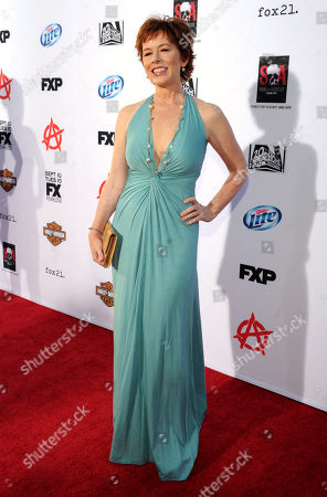 """McNally Sagal arrives at FX's """"Sons of Anarchy"""" Season 6 Premiere Screening and Party, on in Hollywood, Calif"""