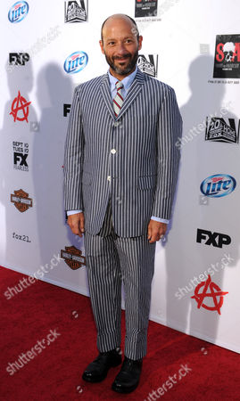 """Michael Ornstein arrives at FX's """"Sons of Anarchy"""" Season 6 Premiere Screening and Party, on in Hollywood, Calif"""