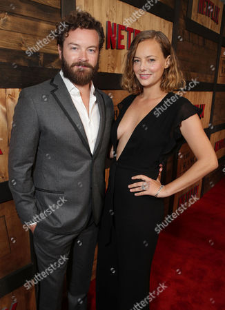 Danny Masterson and Bijou Phillips seen at a special screening of Netflix original series 'The Ranch' at Arclight Hollywood, in Los Angeles