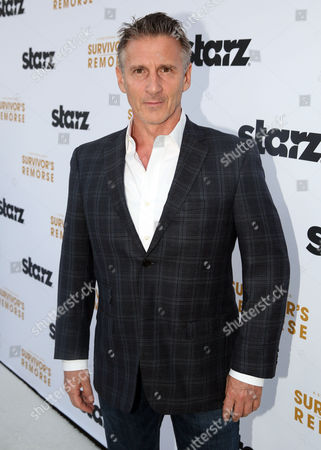 """Chris Stanley arrives at the premiere of the STARZ original series """"Survivor Remorse"""" on in Los Angeles. """"Survivor Remorse"""" premieres Saturday, Oct. 4 exclusively on STARZ"""